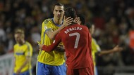 Cibir Ronaldo, Ibrahimovic: Pindah ke Juventus Bukanlah Tantangan