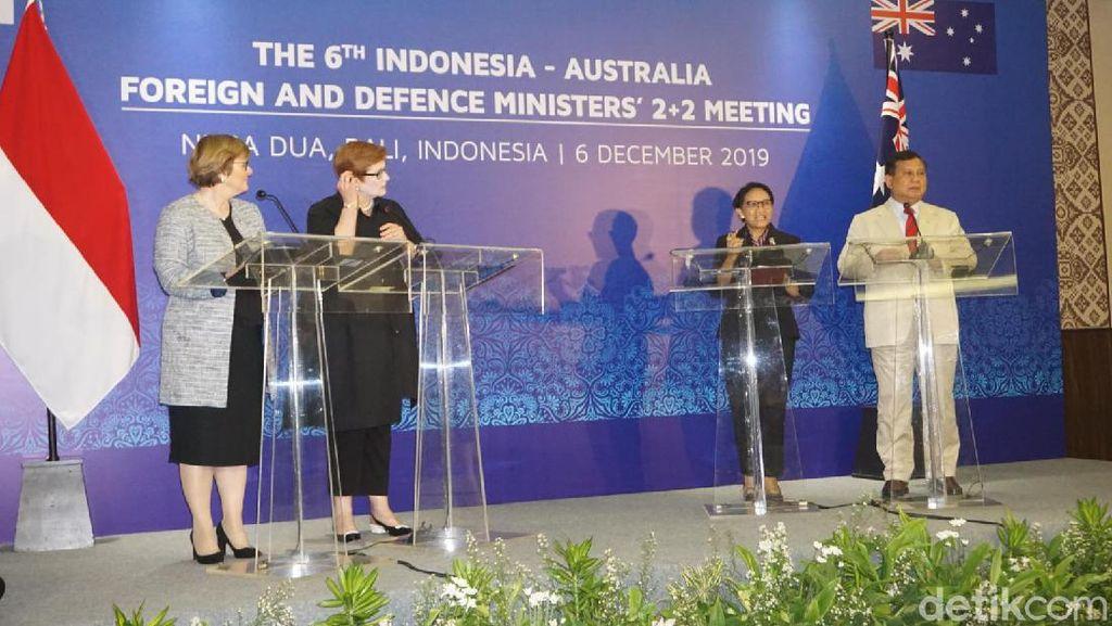 Prabowo: Australia Akan Tukar Informasi Intelijen Lawan Illegal Fishing