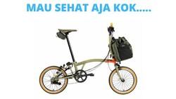 Sepeda brompton akhir-akhir ini menjadi perbincangan. Sepeda yang sering digunakan untuk olahraga ini ternyata memiliki harga selangit.