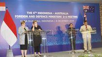 Kesan Prabowo Jadi Satu-satunya Pria di Pertemuan Menlu dan Menhan RI-Australia