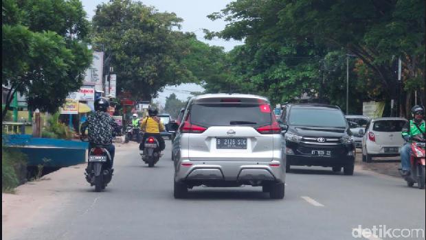 Jalanan Balikpapan menuju Samarinda