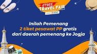 Ini 2 Pemenang dFree Travel Fair yang Dapat Tiket PP ke Yogya Gratis!