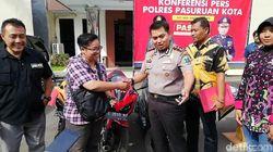 Motor Hilang Dicuri Dikembalikan, Korban: Terima Kasih Pak Polisi
