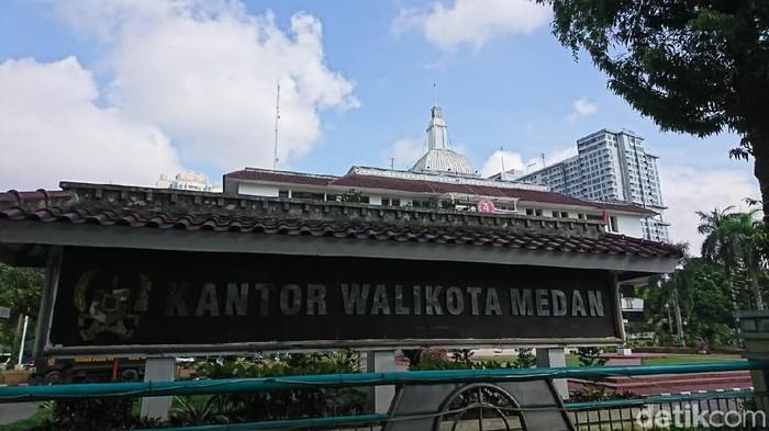Foto: Ahmad Arfah Lubis-detikcom/Kantor Wali Kota Medan