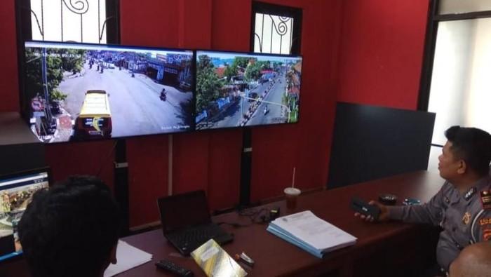 Dishub dan Polres Majalengka pasang CCTV di sejumlah setopan. (Foto: dok. Polres Majalengka)
