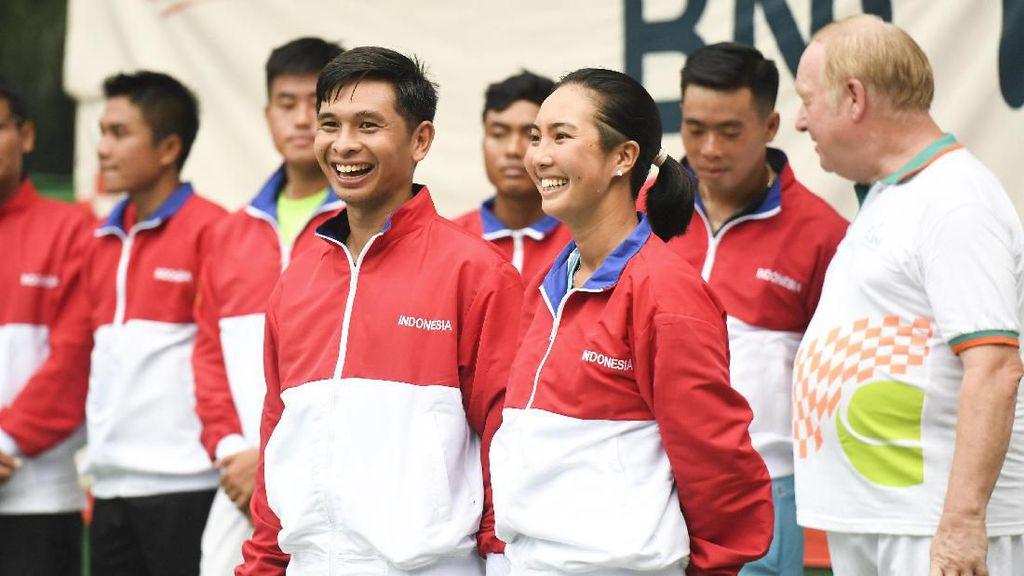 Kans Christoper/Aldila Ulang Sukses Suwandi/Wynne Prakusya di SEA Games