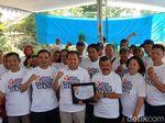 Jelang Pilkada, Bawaslu Blitar Launching 5 Kampung Antipolitik Uang