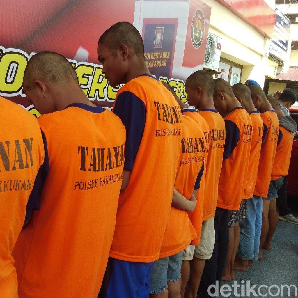 Polisi Tangkap Komplotan Begal Sadis yang Busur Aktivis HMI di Makassar
