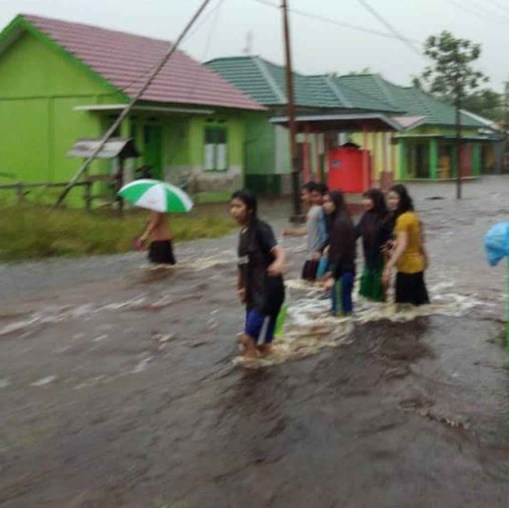Sejumlah Desa di Sambas Kalbar Terendam Banjir