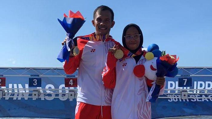 Frada Saleh Harahap dan Dea Salsabila putri sumbang emas lagi. (Foto: dok. Ist)