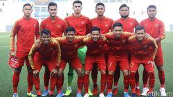 Sengit, Myanmar Vs Indonesia Masih 0-0 di Babak Pertama