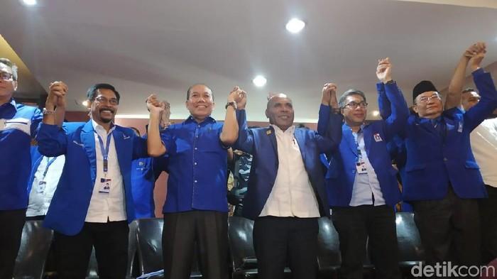 Konferensi Pers DPW PAN soal Dukungan ke Zulkifli Hasan Jadi Caketum/Foto: Wilda/detikcom