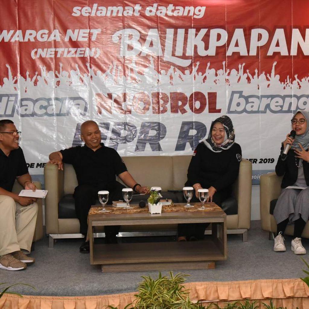 MPR Ajak Netizen Balikpapan Sebarkan Nilai 4 Pilar Bangsa