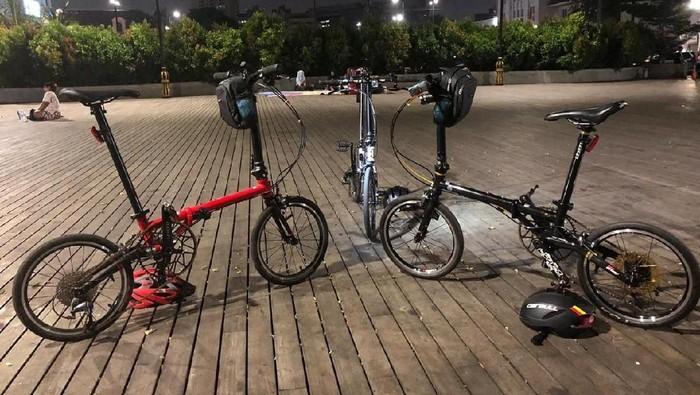 Sepeda Fnhon yang harganya puluhan juta. Foto: dok. pribadi Subarna