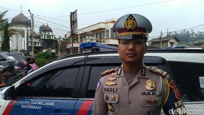 Kasat Lantas Polres Bogor AKP Fadli Amri (Foto: Sachril Agustin Berutu/detikcom)