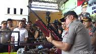Polisi Gerebek Toko Senapan Angin, Produksinya Dijual ke Daerah Konflik