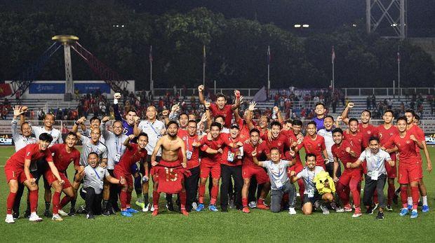 Indonesia Berpotensi Ubah Sejarah di Final SEA Games 2019