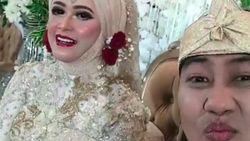 Pernikahan ke-2 Ade Jigo Digelar Sederhana di Malang