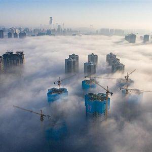 Bikin Takjub! China Bangun Negeri di Atas Awan