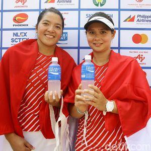 Indonesia Tambah 3 Emas, Salah Satunya Tenis Ganda Putri