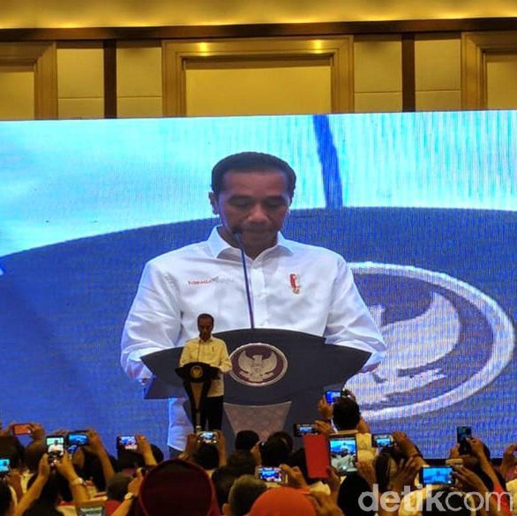 Jokowi Buka Kongres II Projo
