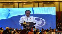 Jokowi Puji Projo: Saya Senang Semangatnya Belum Turun