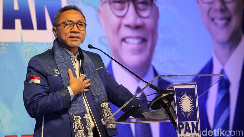 DPW PAN DKI Putuskan Dukung Zulkifli Hasan Maju Caketum