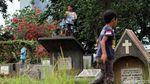 Cerianya Anak-anak di Ibu Kota Bermain Layang-layang