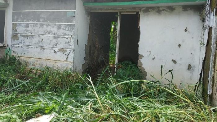Lokasi rumah kosong di perumahan Citayam (Rizal Bahari-detikcom)