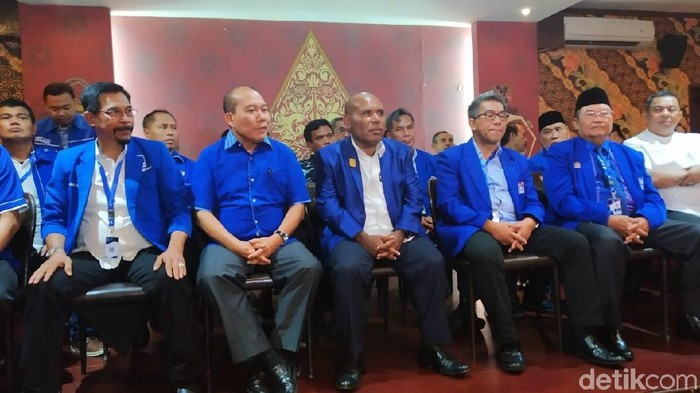 Pengurus DPW PAN (Wilda Hayatun/detikcom)