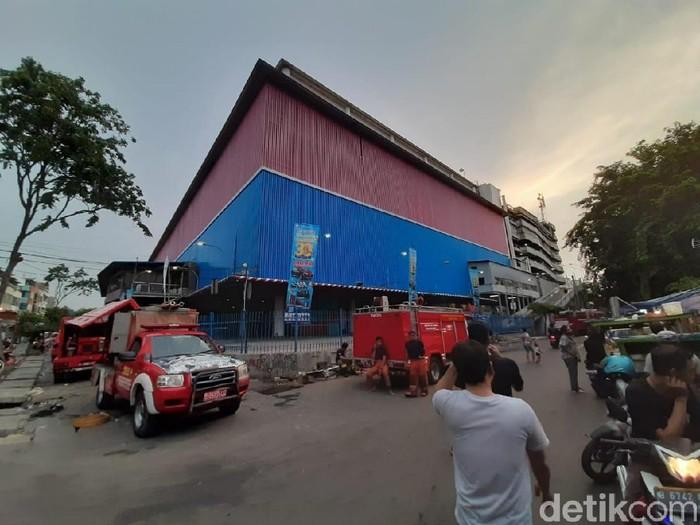 Kebakaran di Mal Lokasari, Jakbar (Yoki Alvetro/detikcom)