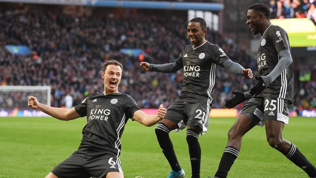 Hajar Aston Villa 4-1, Leicester Terus Tempel Liverpool di Liga Inggris