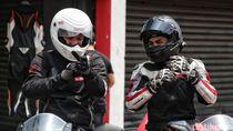 Gading Marten dan Ratusan Bikers Honda Jajal Sirkuit Sentul