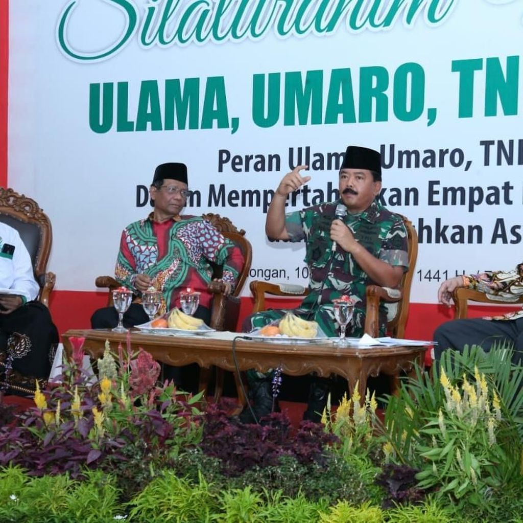 Di Depan Ulama-Umara, Panglima: Tugas TNI Jaga Stabilitas Keamanaan Negara