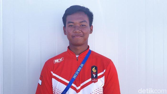 Pepanah muda Arif Pangestu (Mercy Raya/detikSport)