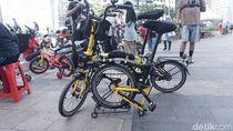 KCI Pastikan Sepeda Lipat Tetap Bisa Dibawa ke KRL Asal Sesuai Ukuran