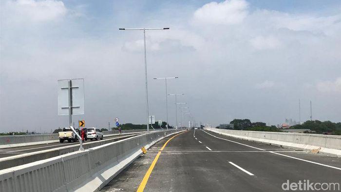 Jalan tol Japek Layang Foto: Rolando/detikcom