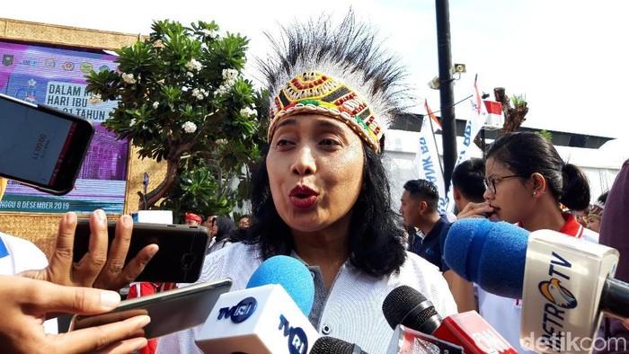 Foto: Menteri PPPA, I Gusti Ayu Bintang (Rahel/detikcom)