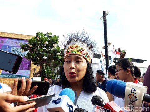 Menteri PPPA, I Gusti Ayu Bintang (Rahel/detikcom)