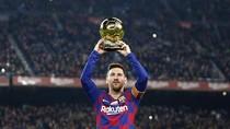 Cara Messi Rayakan Ballon dOr Keenamnya: Bikin Hat-trick