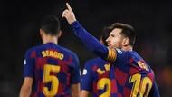 Lengkungan Indah Messi yang Menyihir Mallorca