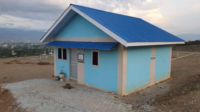 Kementerian PUPR telah membangun hunian tetap (Huntap) bagi para pengungsi di Sulteng yakni di Kelurahan Duyu Kota Palu , Kelurahan Tondo Kota Palu dan Desa Pombewe Kabupaten Sigi.