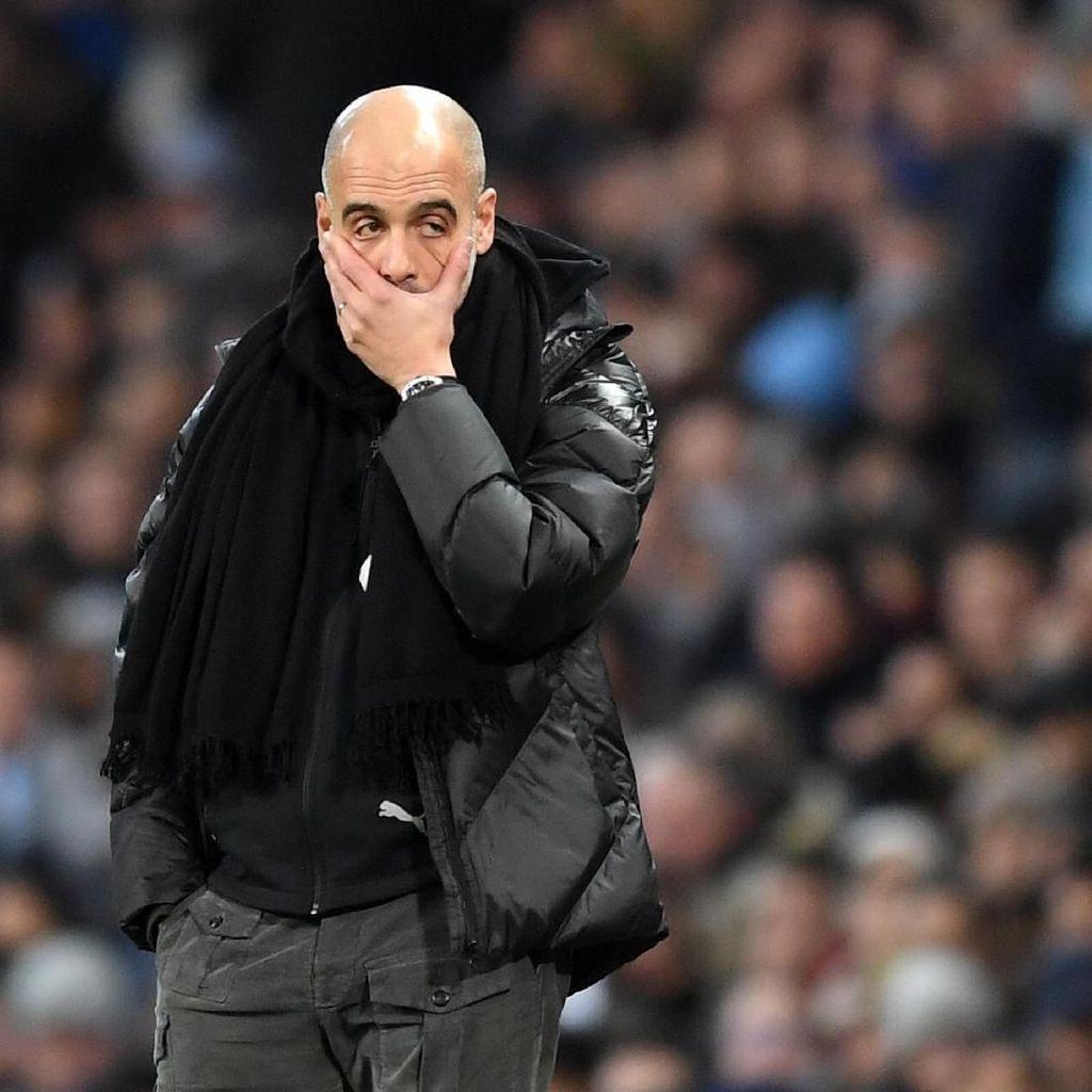 2 Catatan Buruk Guardiola Usai City Dikalahkan MU