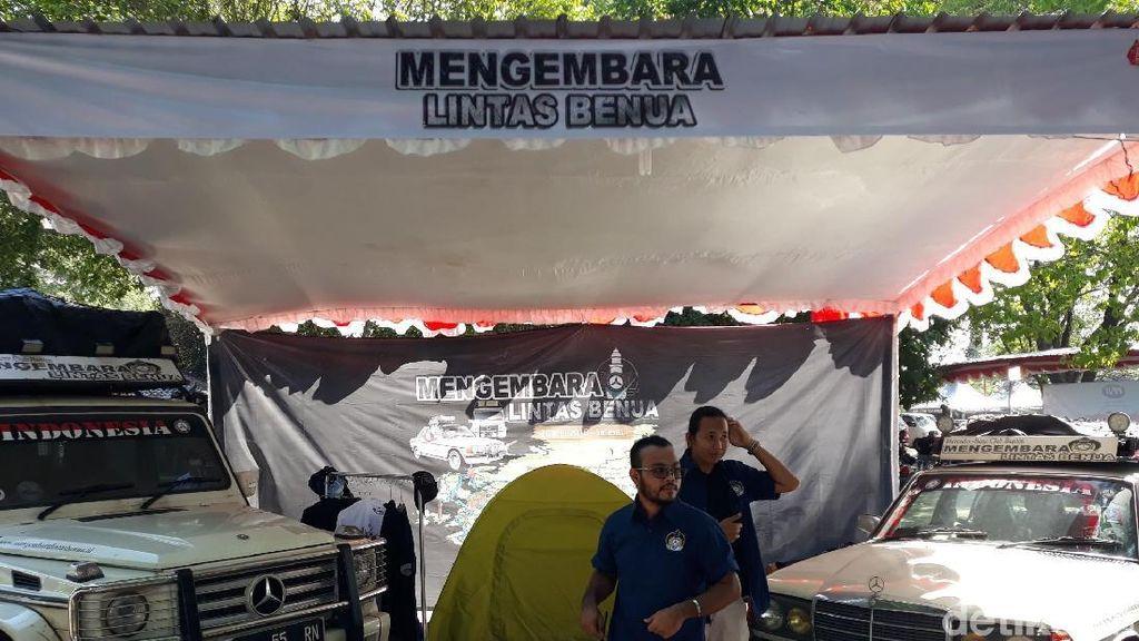 Kendala Pakai Mercy Tua saat Keliling 49 Negara dari Banten