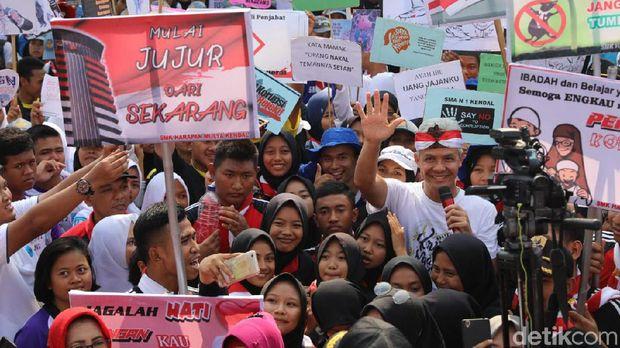 'Doa Maut' Ganjar untuk ASN Jateng: Tak Akan Selamat Kalau Korupsi