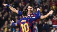 Usai Terima Pinangan Atletico, Suarez Ungkap Reaksi Messi