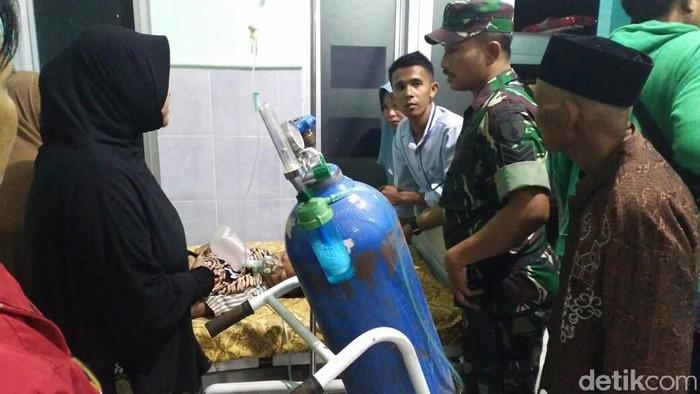Korban dirawat di rumah sakit (Foto: Ghazali Dasuqi)