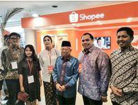 Pemerintah & Shopee Gerak Bersama Dorong UMKM 'Naik Kelas'