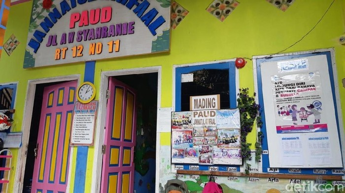 Day Care - Paud tempat penitipan balita Yusuf yang menghilang dan ditemukan tewas tanpa kepala di Samarinda/Foto: Yovanda-detikcom