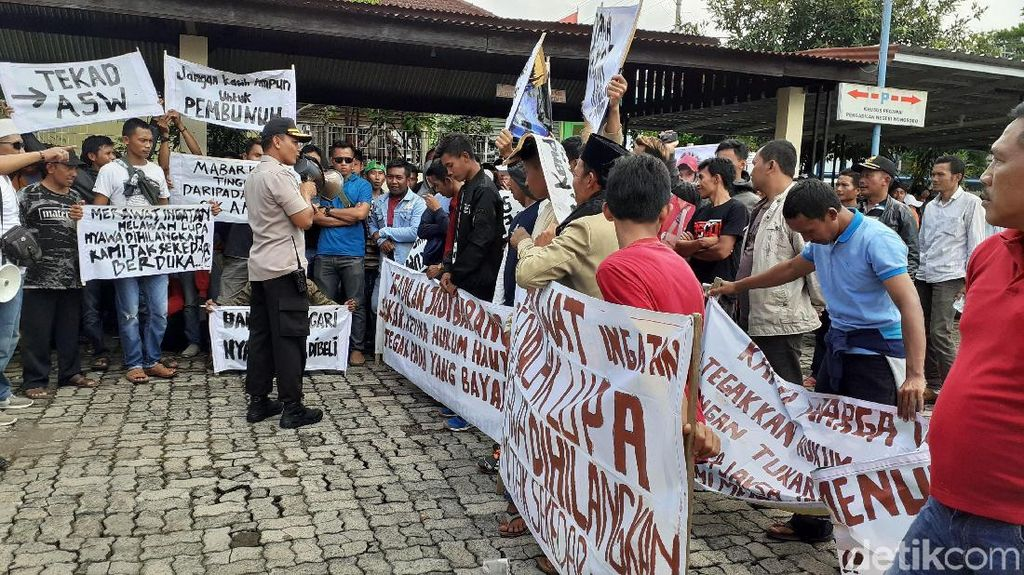 Sidang Pengeroyokan Tukul hingga Tewas, PN Wonosobo Digeruduk Massa